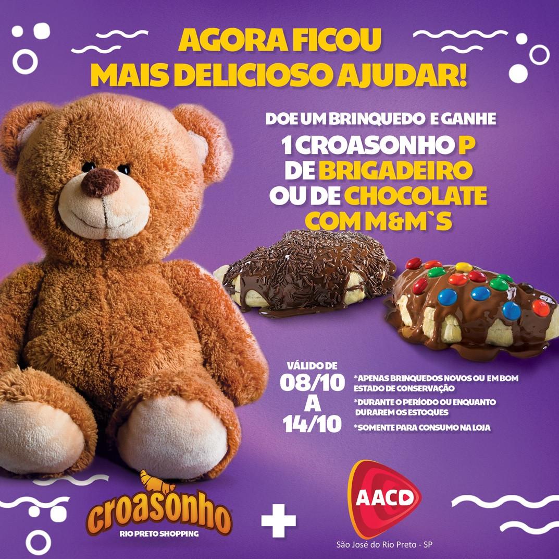 Croasonho de São José do Rio Preto realiza ação especial para a Semana da Criança