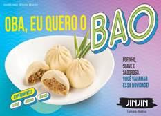 Pão Chinês Bao é a novidade no cardápio Jin Jin