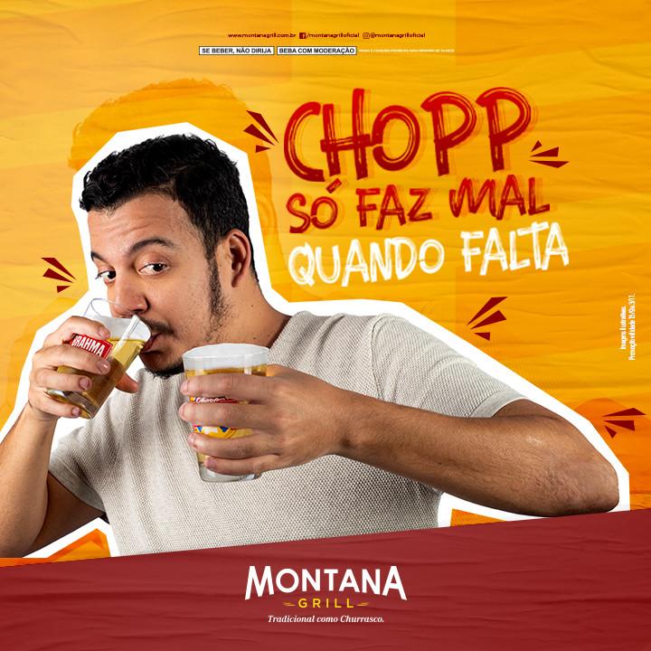 Rodrigo Marques estrela campanha do Montana Grill