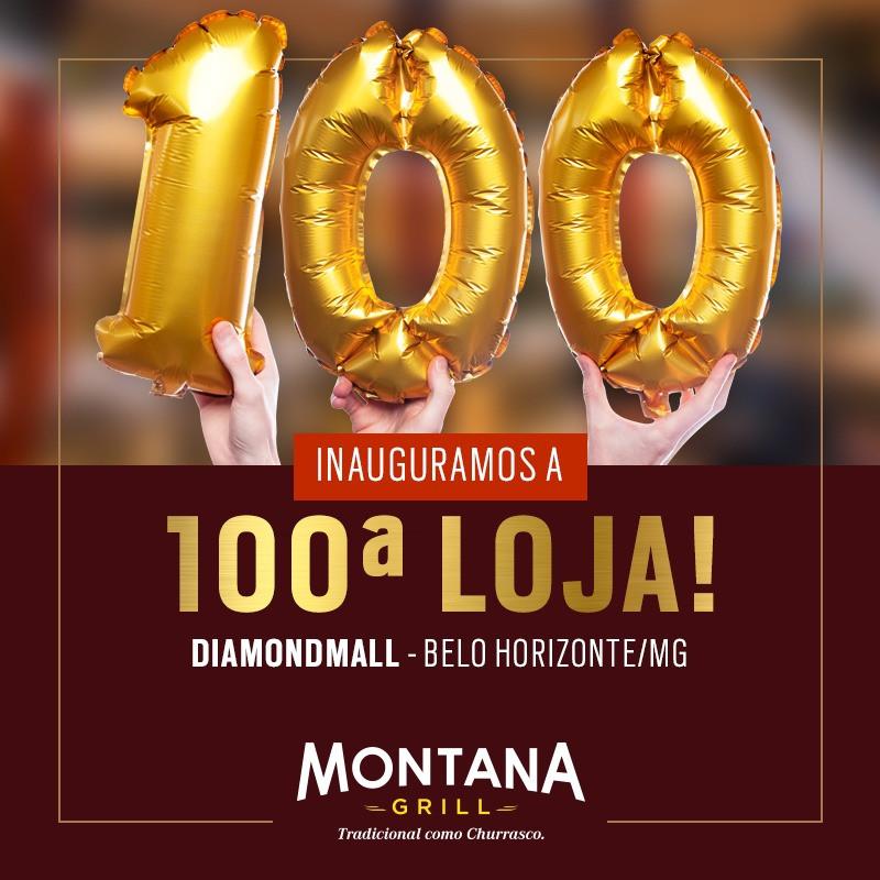 Montana Grill chega a 100 lojas