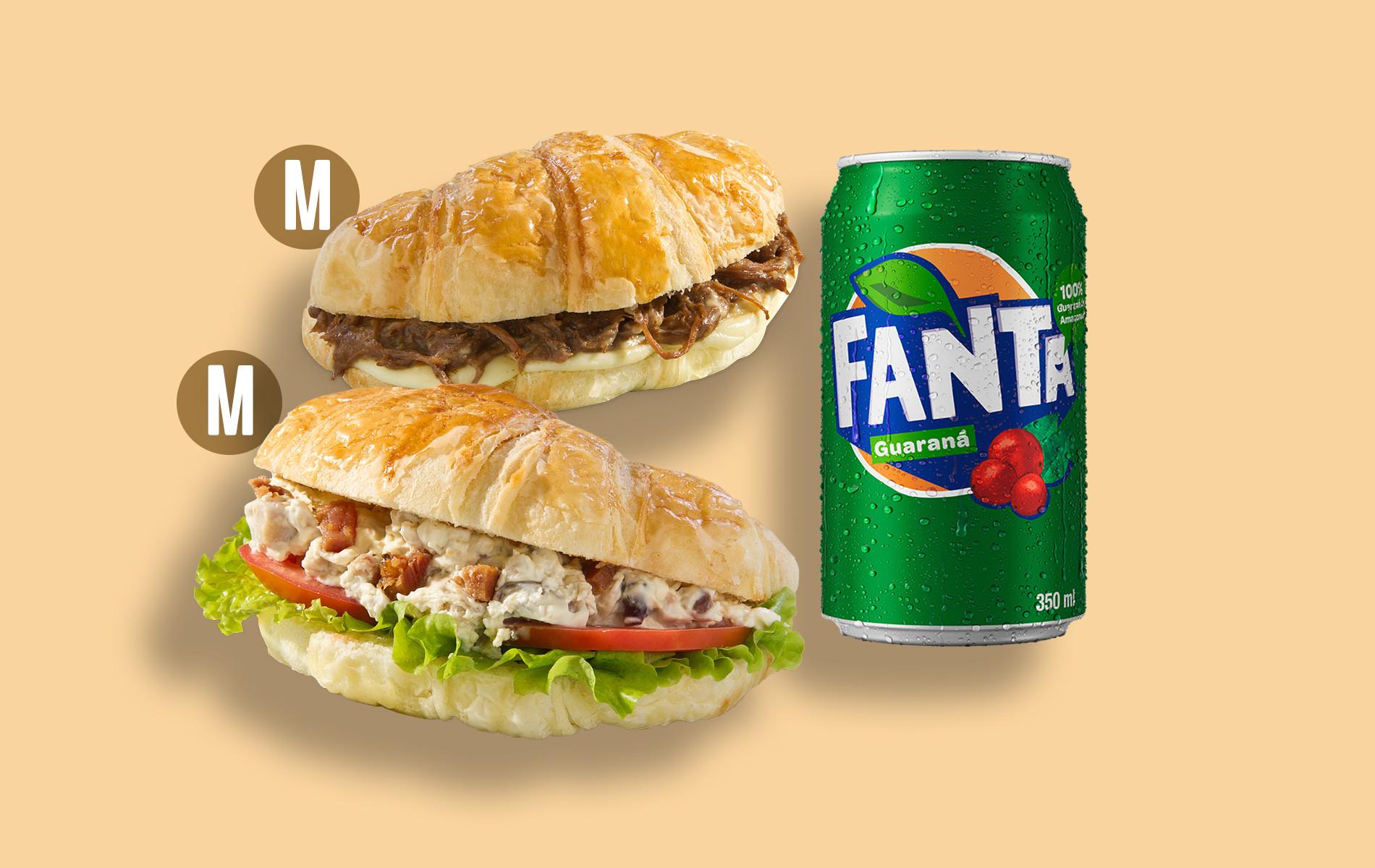 Croasonho faz parceria com Fanta Guaraná e lança combo promocional